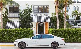 BMW 7 Series Courtesy Car