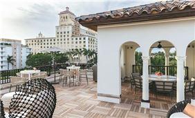 Park Suite Terrace with Portico