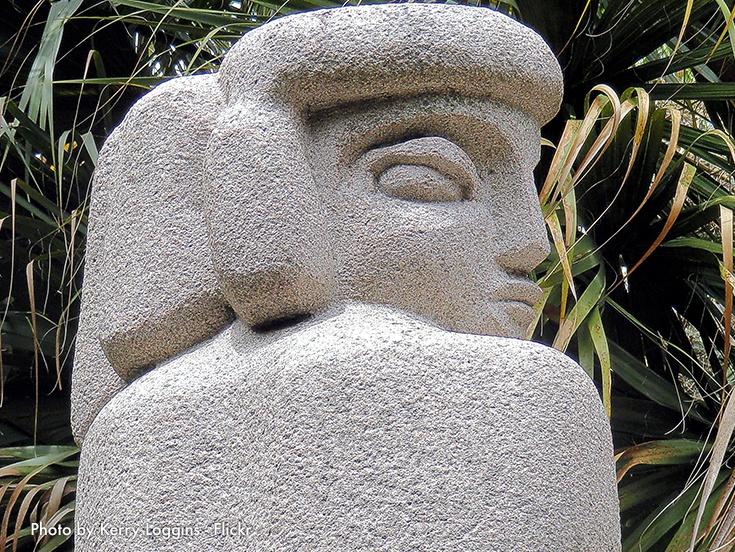 Ann Norton Sculpture Gardens at Palm Beach
