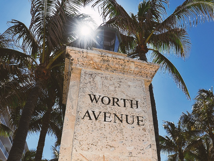 Worth Avenue Shopping at Palm Beach