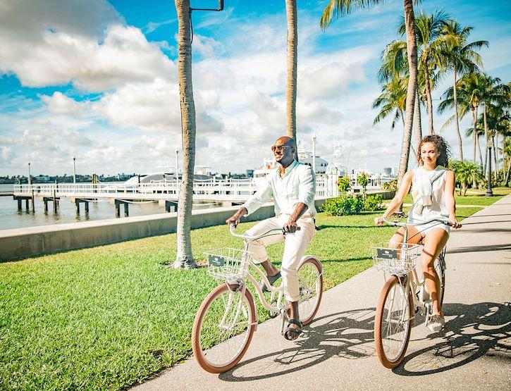 Priority Bikes partner of White Elephant Palm Beach