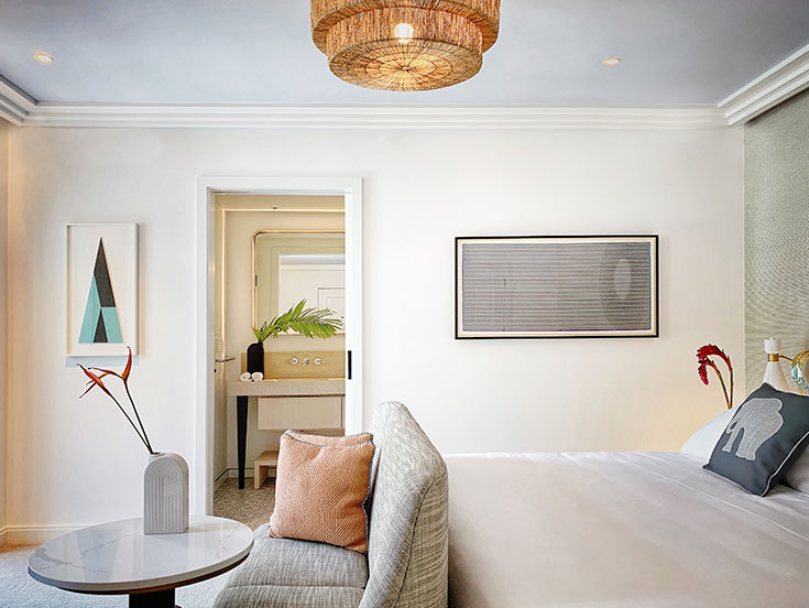 Deluxe King Room - ADA - Accessible at White Elephant Palm Beach